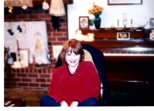 Aunt Judy at her house in Benton Arkansas