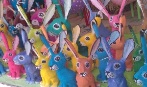 Magic bunnies of Santa Fe