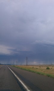 the storms of Colorado, we passed right through untouched by the rain: